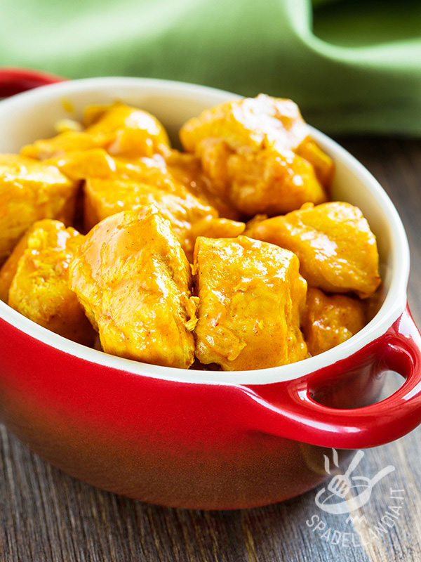 Curried turkey morsels