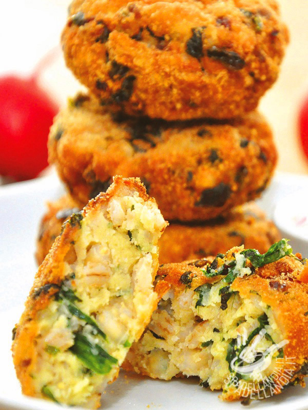 Fish and vegetable croquettes