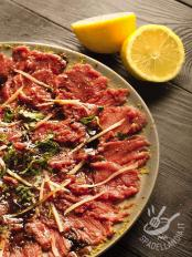 Carpaccio all'aceto balsamico