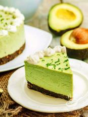 Cheesecake all'avocado