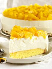 Cheesecake allo yogurt e mango