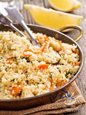 Couscous alle carote caramellate