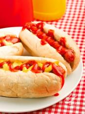 Hot dog senape e cipolle